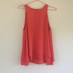 Rebecca Taylor 2 100% silk tank top blouse